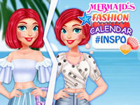 Mermaid's Fashion Calendar #Inspo
