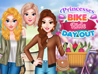 Princesses Bike Ride Day Out