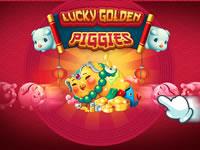 Lucky Golden Piggies