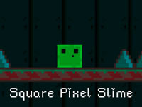 Square Pixel Slime