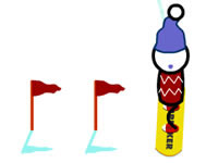 Snowboard Slalom Xtreme!