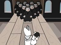 Papal Bowling