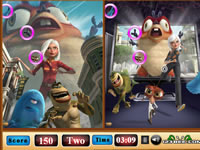 Monsters VS Aliens Similarities
