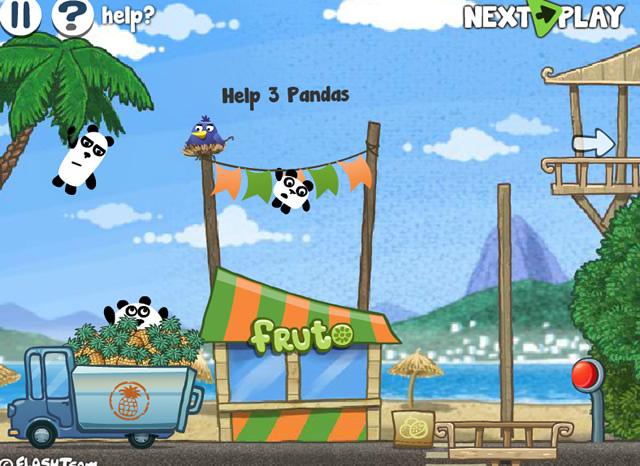 3 pandas in brazil game free download
