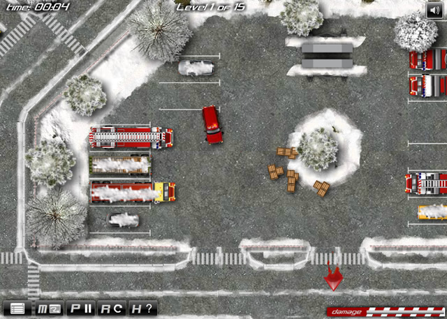 Winter Firefighters Truck 2 - Simulation games - GamingCloud