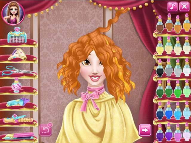 Belle Real Haircuts Girls Games Gamingcloud