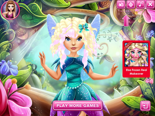 Pixie Hollow Real Haircuts Girls Games Gamingcloud