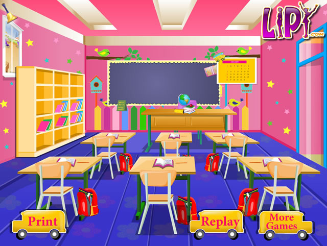 School Classroom Decor Games ~ Kids classroom decoration girls games gamingcloud
