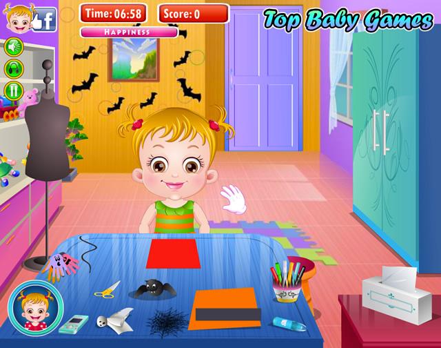 Baby Hazel Halloween Crafts - Girls games - GamingCloud