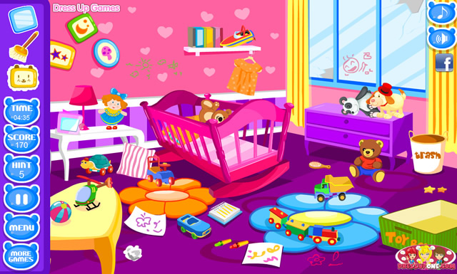 Baby Room Clean Up Girls Games GamingCloud Inspiration Baby Room Cleaning Games