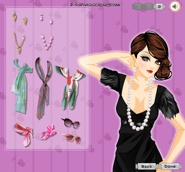 Makeover Games For Girls By: Knotted Hairstyle Elegant Makeover