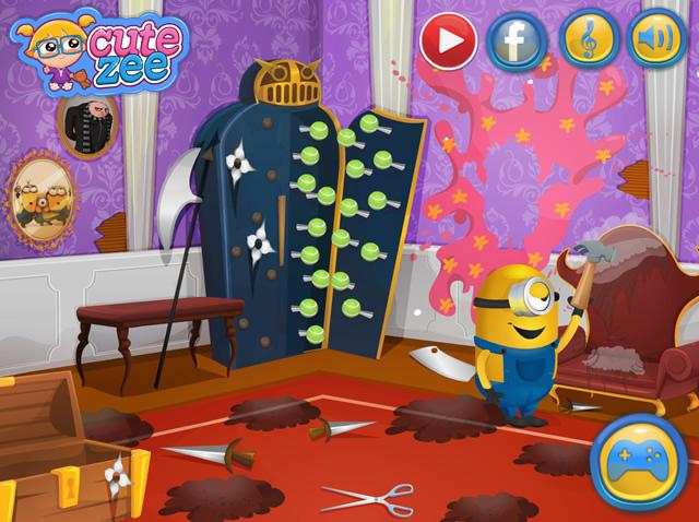 Minions House Makeover. Minions House Makeover   Movies TV games   GamingCloud