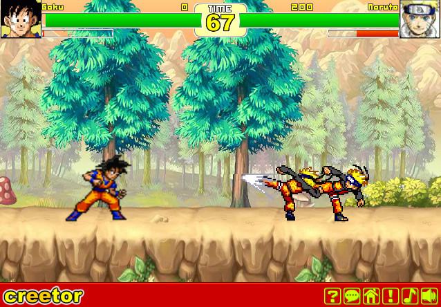 3ca00cfaf352a Anime Fighting Creation - Fight games - GamingCloud