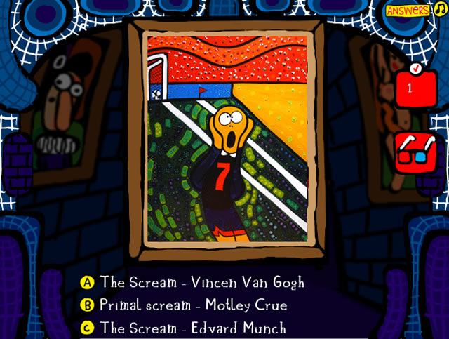 Famous Paintings Parodies 7 - Mind games - GamingCloud   640 x 483 jpeg 111kB