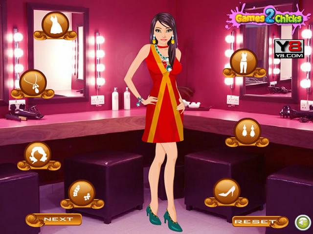 Pretty Girl Dress Up Game - DressUpWhocom