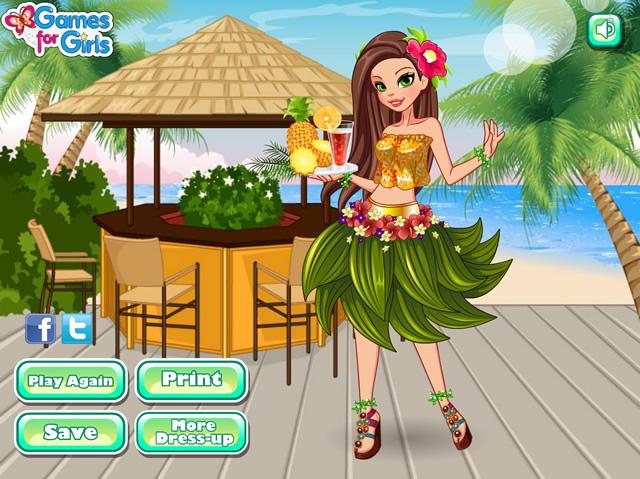 aaef4df0c904e Hula Girl - Girls games - GamingCloud