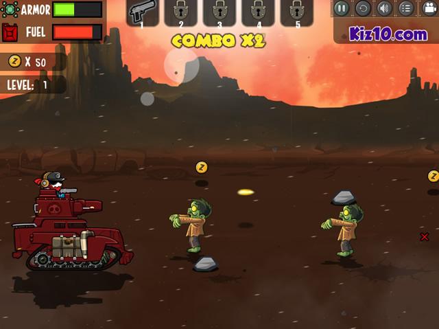 slash zombies rampage 2 shootem up games gamingcloud