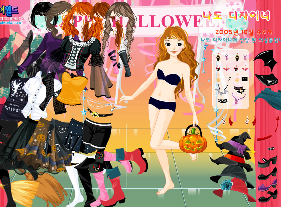 halloween dress up 2 - Halloween Fashion Games