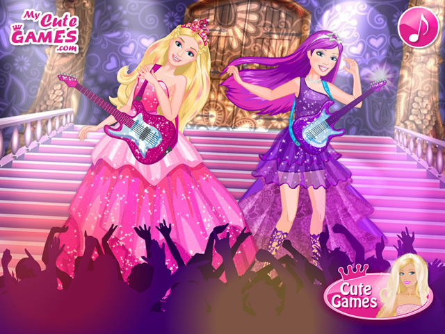 Barbie Princess and the Popstar - Girls games - GamingCloud