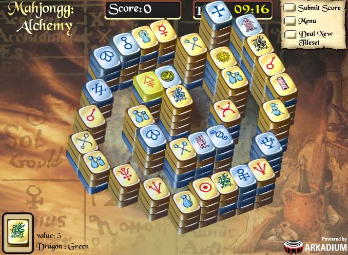 Alchemie Mahjong