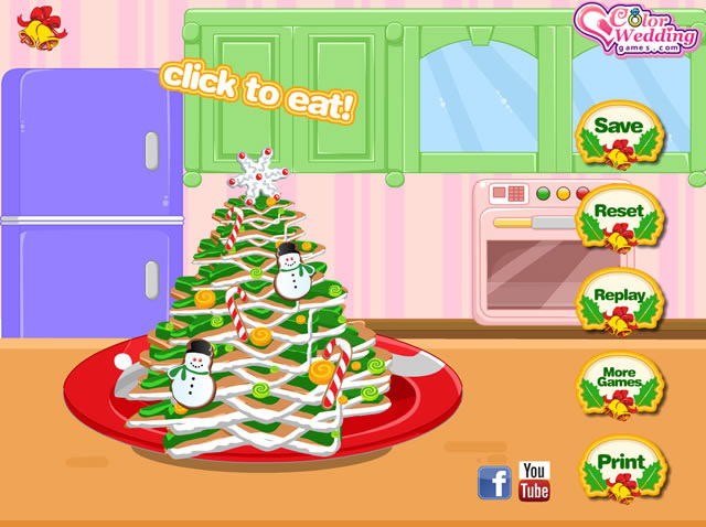 Coolmathgames Com Christmas Ornaments: Gingerbread Cookie Christmas Tree
