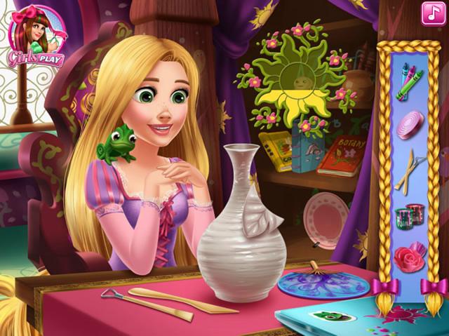 rapunzel 39 s crafts m dchen spiele gamingcloud. Black Bedroom Furniture Sets. Home Design Ideas