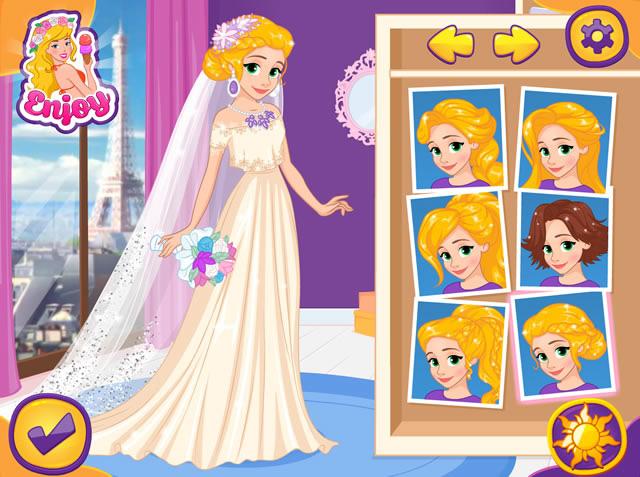 rapunzel destination wedding paris m dchen spiele gamingcloud. Black Bedroom Furniture Sets. Home Design Ideas