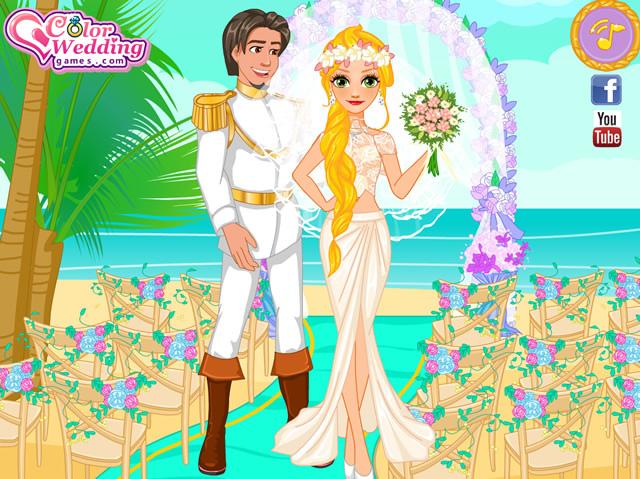 rapunzel summer wedding m dchen spiele gamingcloud. Black Bedroom Furniture Sets. Home Design Ideas