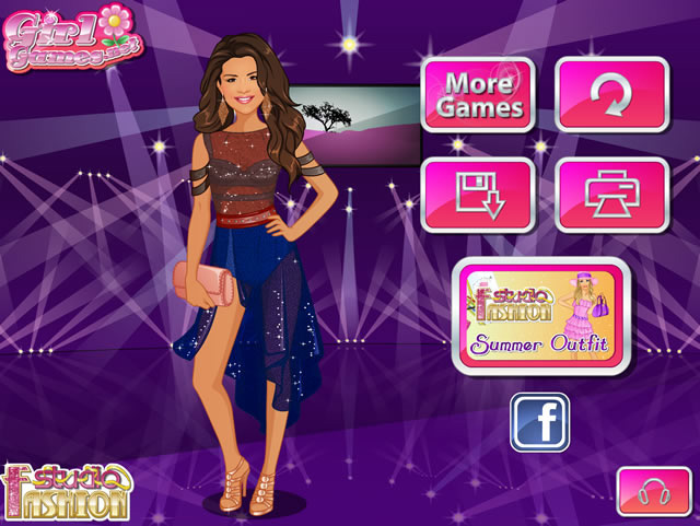 Fashion Studio Selena Gomez Girls Games Gamingcloud