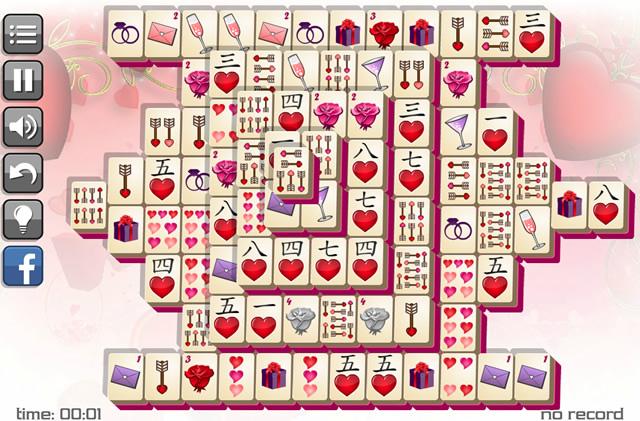 Valentineu0027s Day Mahjong