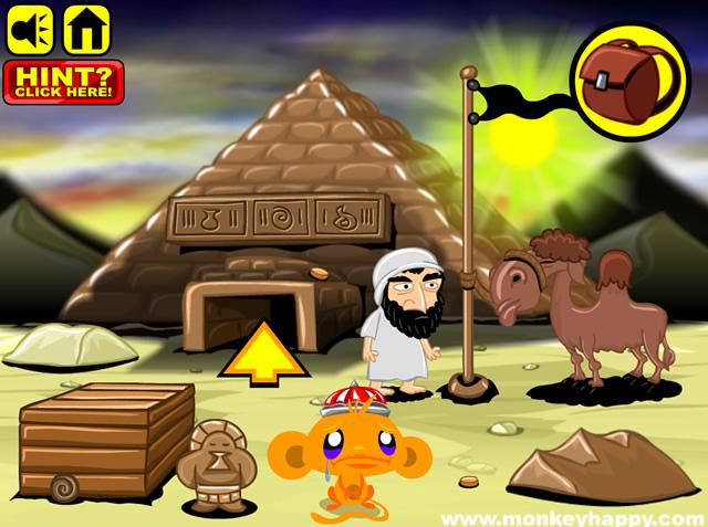 Monkey Go Happy Pyramid Escape Adventure Games Gamingcloud