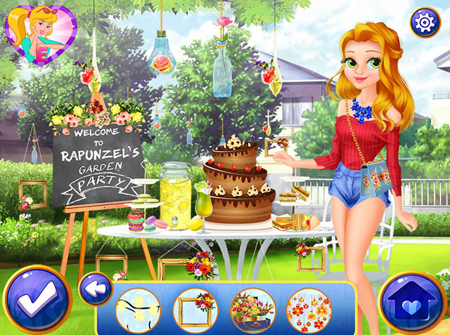 rapunzel 39 s secret garden m dchen spiele gamingcloud. Black Bedroom Furniture Sets. Home Design Ideas
