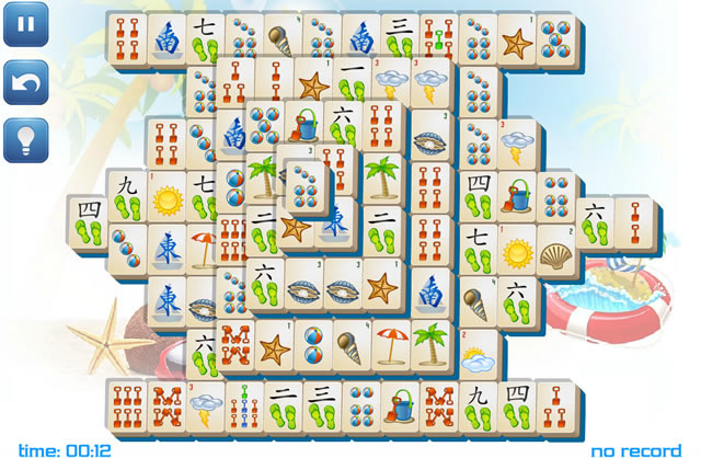 mahjong gratis spil