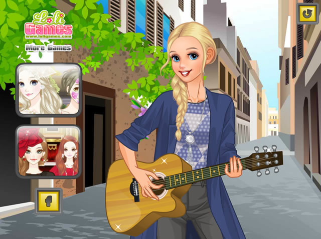 Street Singer - Girls games - GamingCloud