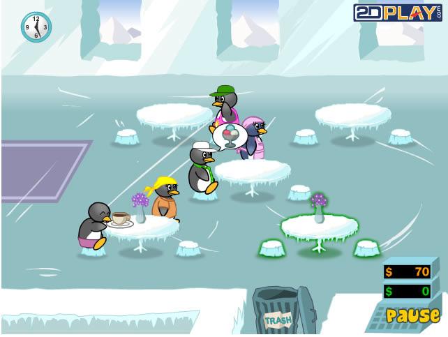 pinguin diner 2 spielen