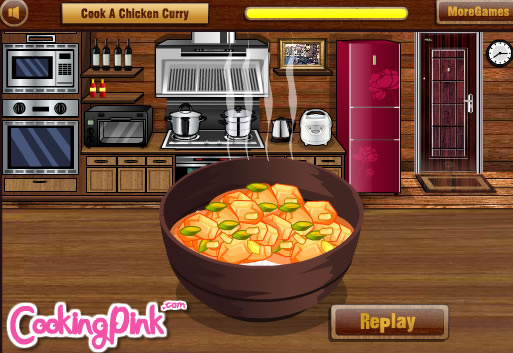cook a chicken curry simulationsspiele gamingcloud. Black Bedroom Furniture Sets. Home Design Ideas