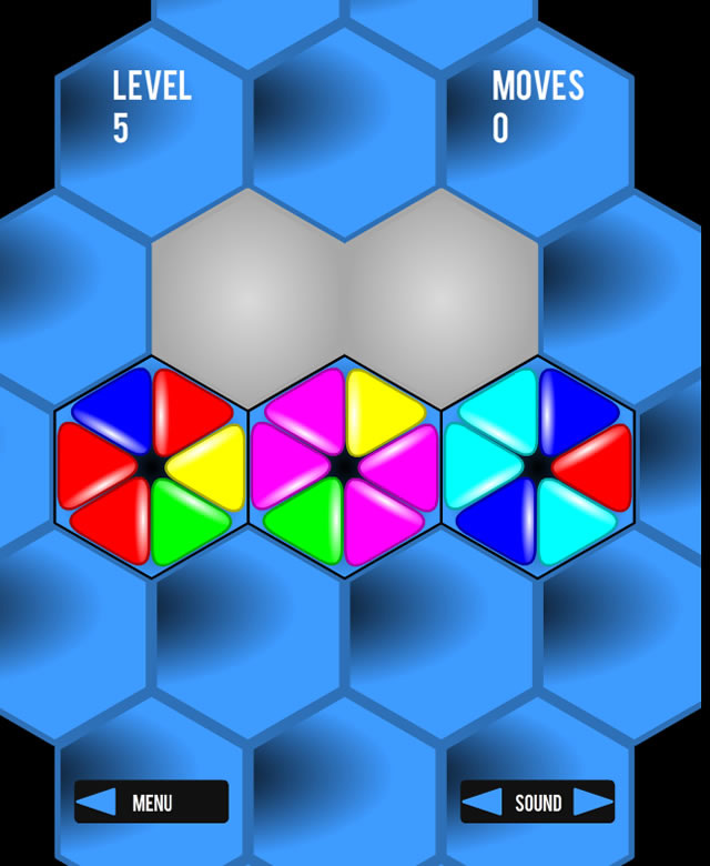 play hexagon a free online game on kongregate - 640×780