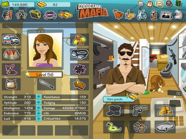 Goodgame Gangster - Action games - GamingCloud Goodgame Gangster