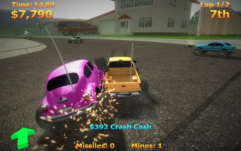 Mini Remote Cars Game Pc