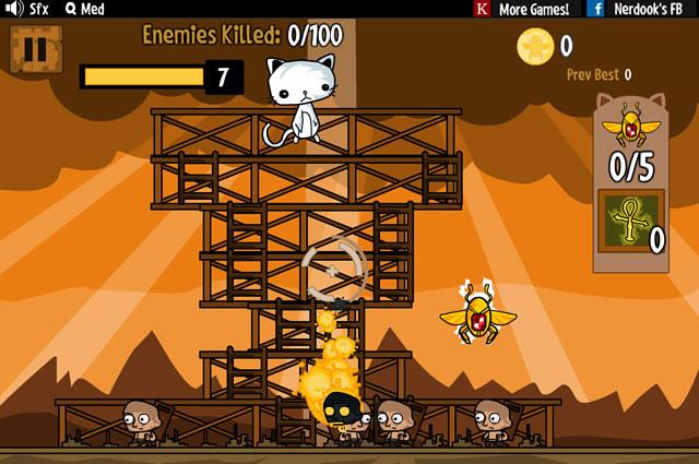 Cat Shoot Em Up Game Epic