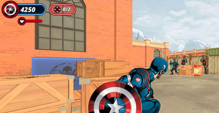 Shield Strike - Captain America
