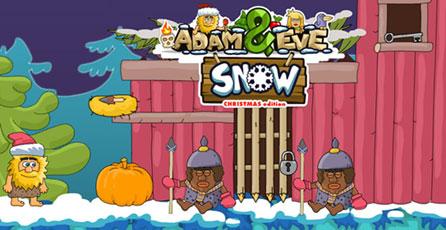 Adam and Eve - Snow