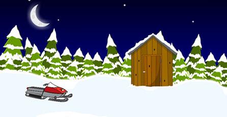 Snowy Cabin Escape